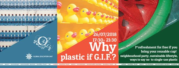 Why Plastic If G.I.F.? Social Media Cover Photo