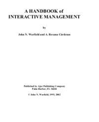 Handbook of Interactive Management